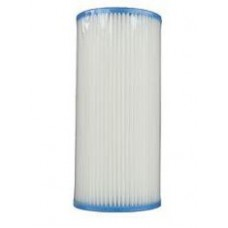 "9.75"" Watts Pleated Full Flow Pleated Water Filter cartridge 20 Micron"